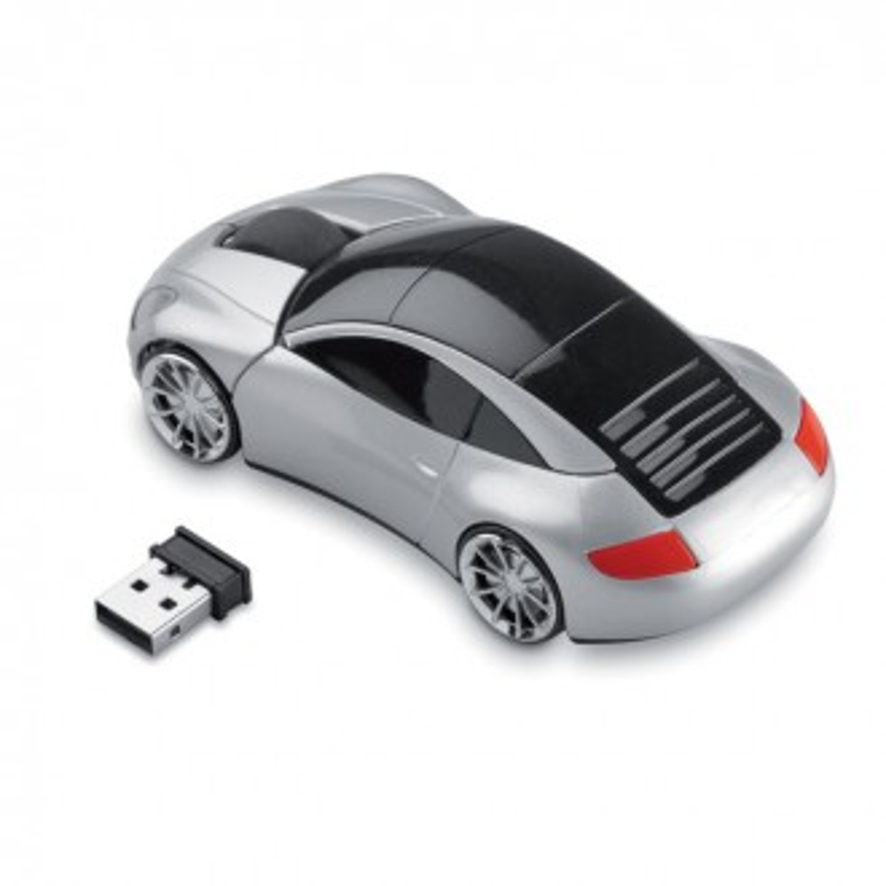 Mouse in forma de masinuta, wireless, USB receiver, 2.4 GHz