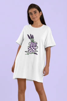 ROCHIE BUMBAC ORGANIC, LAVENDER CUP